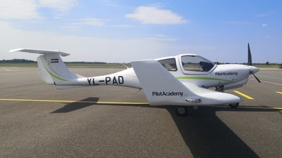 A picture of YLPAD - Diamond DA40 NG - [40.N409] - © airBaltic Pilot Academy