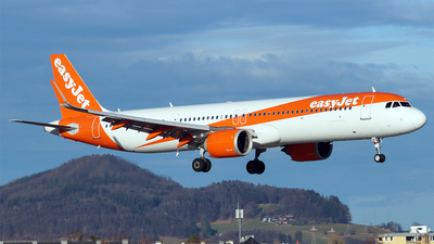 A picture of GUZMB - Airbus A321251NX - easyJet - © Hugo Schwarzer