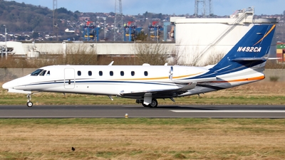 N492CA - Cessna 680 Citation Sovereign Plus - Private