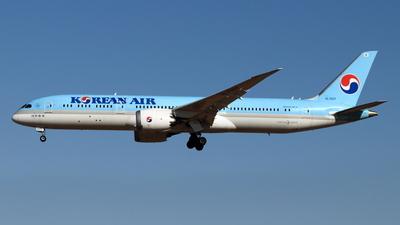 A picture of HL7207 - Boeing 7879 Dreamliner - Korean Air - © NRT Spotter