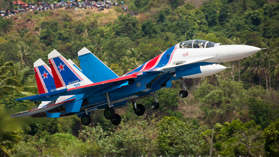 30 - Sukhoi Su-30SM - Russia - Air Force