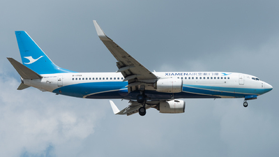 A picture of B1709 - Boeing 73785C - Xiamen Air - © xuhaoqing995