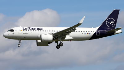 A picture of DAINZ - Airbus A320271N - Lufthansa - © Eddie Heisterkamp
