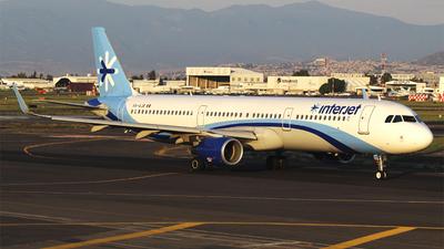 XA-AJB - Airbus A321-211 - Interjet