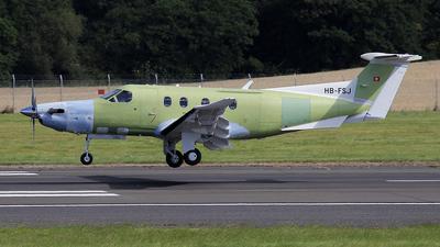 A picture of HBFSJ - Pilatus PC12/47E -  - © Ian Howat