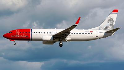 A picture of LNNIE - Boeing 7378JP - Norwegian - © Laszlo Fekete