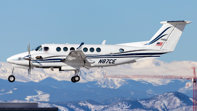 N87CE - Beechcraft B300 King Air 350 - Private
