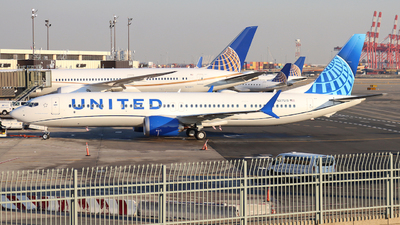 N27519 - Boeing 737-9 MAX - United Airlines