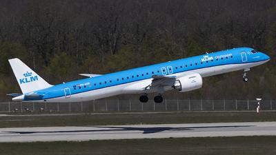 A picture of PHNXB - Embraer E195E2 - KLM - © Stéphane Mutzenberg