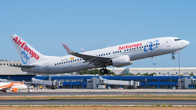 A picture of ECIDT - Boeing 73786Q - Air Europa - © Saúl Alonso - PMI Plane Spotting