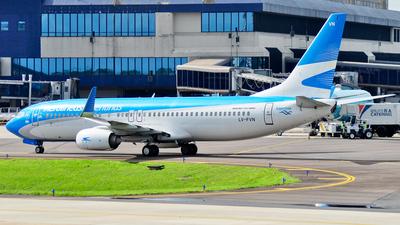 LV-FVN - Boeing 737-8SH - Aerolíneas Argentinas