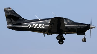 A picture of GBEDG - Rockwell Commander 112 - [482] - © Brian T Richards