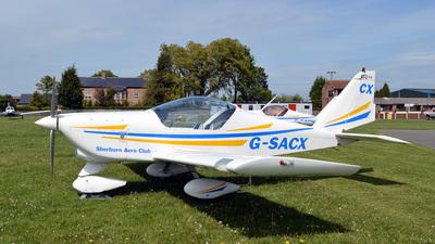 G-SACX - Aero AT-3-R100 - Sherburn Aero Club