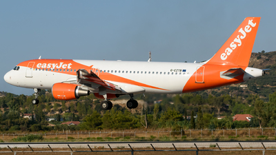 A picture of GEZTB - Airbus A320214 - easyJet - © George Chaidaris