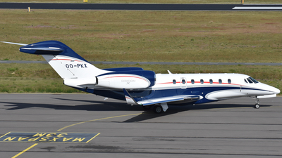 OO-PKX - Cessna 750 Citation X - Private