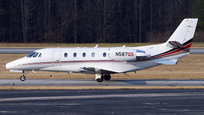 N587QS - Cessna 560XL Citation XLS - NetJets Aviation