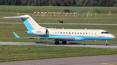 HL8230 - Bombardier BD-700-1A10 Global Express - Korean Air