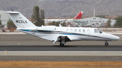N22LX - Cessna 525B CitationJet 3 - Private