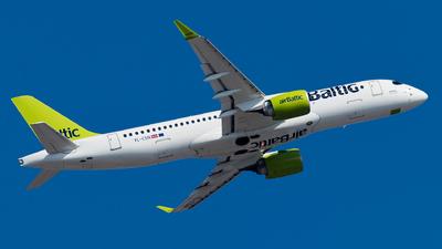 YL-CSN - Airbus A220-371 - Air Baltic