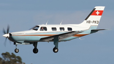 HB-PKD - Piper PA-46-310P Malibu - Private