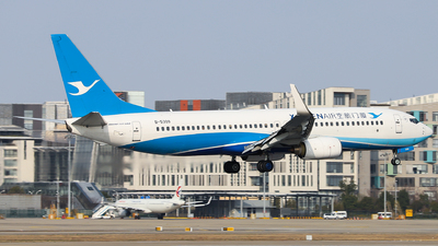 A picture of B5309 - Boeing 73786N - Xiamen Air - © Dream it possible.