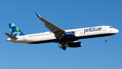 A picture of N967JT - Airbus A321231 - JetBlue Airways - © Yishai Howe