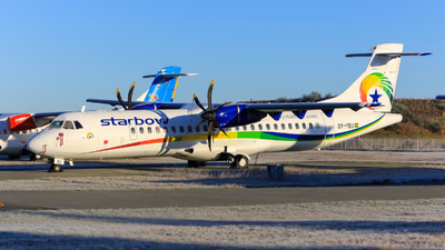 OY-YBU - ATR 72-212A(500) - Starbow Airlines