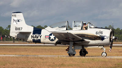 N187GH - North American T-28C Trojan - Private