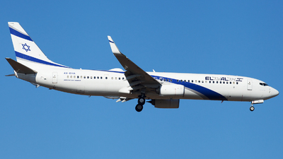 A picture of 4XEHA - Boeing 737958(ER) - El Al - © Alexander Schürmann