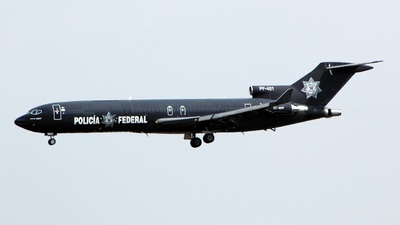 XC-MPF - Boeing 727-264(Adv) - Mexico - Federal Police