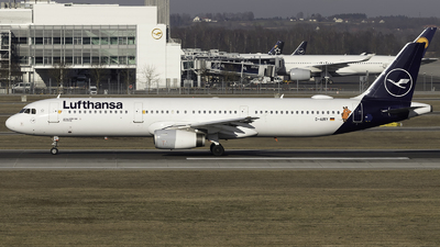 A picture of DAIRY - Airbus A321131 - Lufthansa - © FlorianWerner