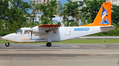N908GD - Britten-Norman BN-2A-26 Islander - Air Flamenco
