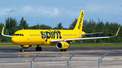 A picture of N664NK - Airbus A321231 - Spirit Airlines - © Carlos Nieves