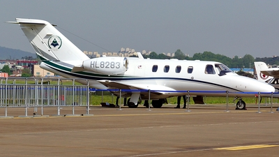 HL8283 - Cessna 525 CitationJet 1 Plus - Hanseo University