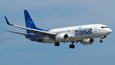 C-FYQO - Boeing 737-8AS - Air Transat