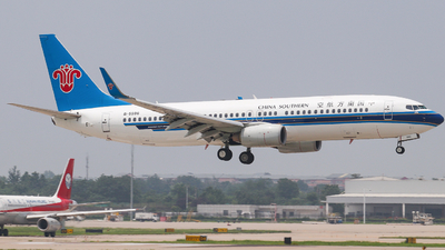 A picture of B5596 - Boeing 73781B - China Southern Airlines - © AGUIJUN-Lei