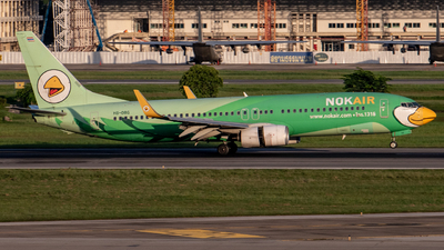 A picture of HSDBG - Boeing 7378FH - Nok Air - © Taweesak