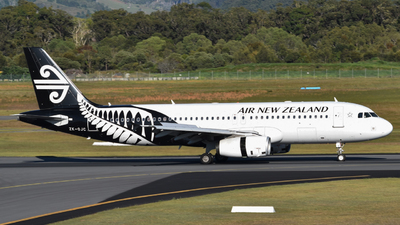 ZK-OJC - Airbus A320-232 - Air New Zealand