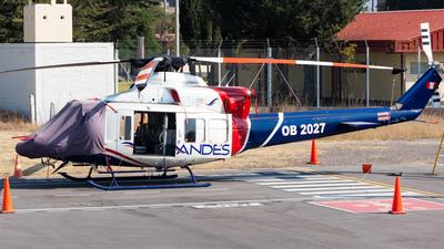 OB2027 - Bell 412EP - Servicios Aéreos de los Andes