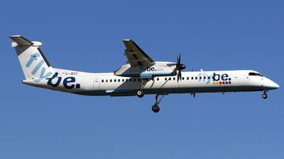 G-JECX - Bombardier Dash 8-Q402 - Flybe