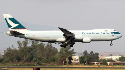 B-LJC - Boeing 747-867F - Cathay Pacific Cargo