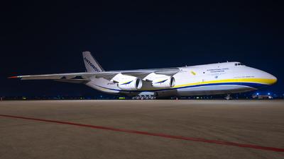 A picture of UR82009 - Antonov An124100M150 - Antonov Design Bureau - © Zhao Linwei