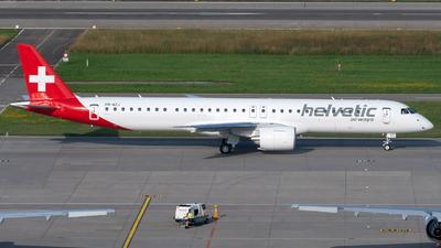 HB-AZJ - Embraer 190-400STD - Helvetic Airways