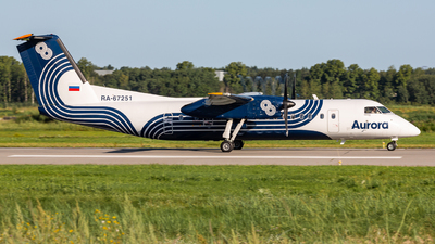 A picture of RA67251 - De Havilland Canada Dash 8300 - [533] - © Denis Tupichkin