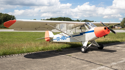 OO-HBG - Piper PA-18-95 Super Cub - Private