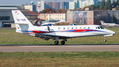A picture of TCTKN - Cessna 680 Citation Sovereign -  - © Vitaliy Trubnykov