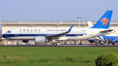 A picture of B306G - Airbus A320251N - China Southern Airlines - © Egg_Shadowsine Aviation