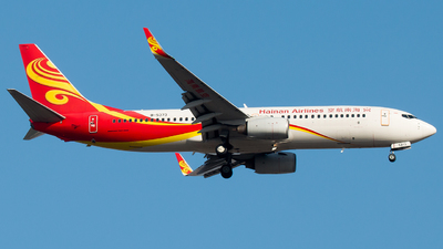 A picture of B5373 - Boeing 73784P - Hainan Airlines - © william8252