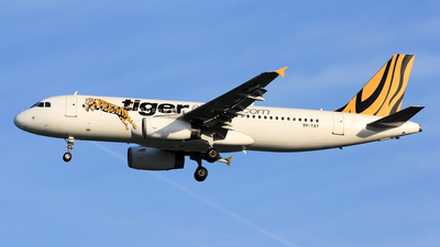 9V-TAY - Airbus A320-232 - Tiger Airways
