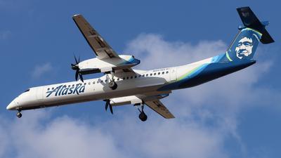 A picture of N447QX - De Havilland Canada Dash 8400 - Alaska Airlines - © Ethan Peters
